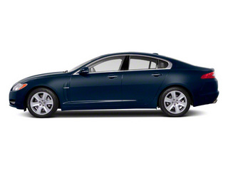 Indigo Blue 2012 Jaguar XF Pictures XF Sedan 4D photos side view