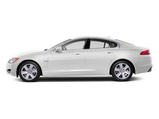 Polaris White 2012 Jaguar XF Pictures XF Sedan 4D photos side view