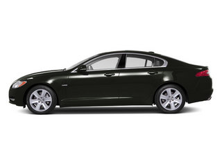 Taiga Green 2012 Jaguar XF Pictures XF Sedan 4D photos side view