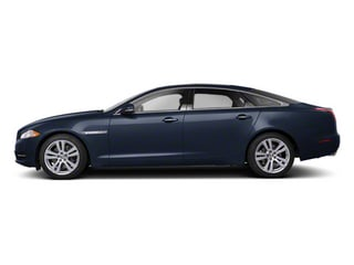 Azurite Blue 2012 Jaguar XJ Pictures XJ Sedan 4D L photos side view