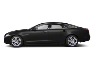 Midnight Black 2012 Jaguar XJ Pictures XJ Sedan 4D L photos side view