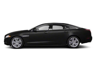 Ultimate Black 2012 Jaguar XJ Pictures XJ Sedan 4D L photos side view