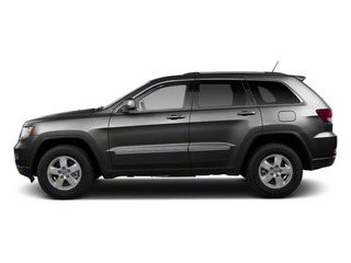Maximum Steel Metallic 2012 Jeep Grand Cherokee Pictures Grand Cherokee Utility 4D Overland 2WD photos side view