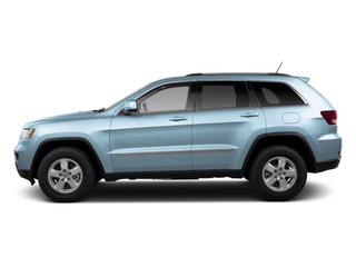 Winter Chill Pearl 2012 Jeep Grand Cherokee Pictures Grand Cherokee Utility 4D Laredo 2WD photos side view