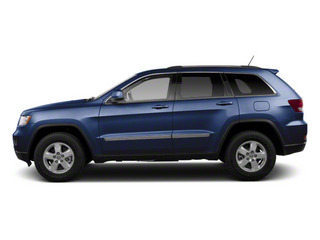 True Blue Pearl 2012 Jeep Grand Cherokee Pictures Grand Cherokee Utility 4D Laredo 2WD photos side view
