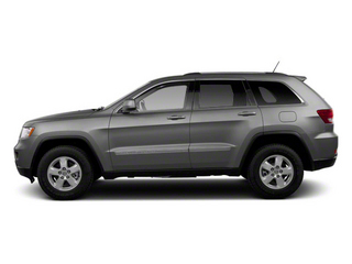 Mineral Gray Metallic 2012 Jeep Grand Cherokee Pictures Grand Cherokee Utility 4D Overland 2WD photos side view