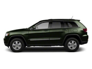 Black Forest Green Pearl 2012 Jeep Grand Cherokee Pictures Grand Cherokee Utility 4D Overland 2WD photos side view