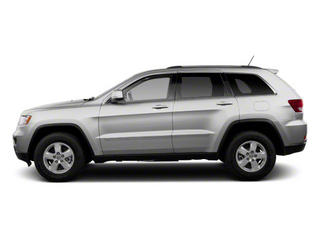 Bright Silver Metallic 2012 Jeep Grand Cherokee Pictures Grand Cherokee Utility 4D SRT-8 4WD photos side view