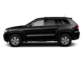 Brilliant Black Crystal Pearl 2012 Jeep Grand Cherokee Pictures Grand Cherokee Utility 4D Overland 2WD photos side view