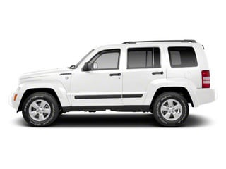 Bright White 2012 Jeep Liberty Pictures Liberty Utility 4D Sport 2WD photos side view