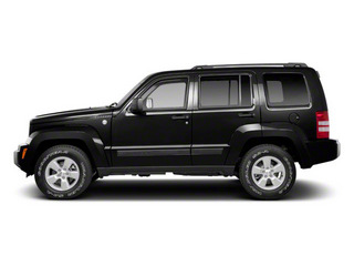 Brilliant Black Crystal Pearl 2012 Jeep Liberty Pictures Liberty Utility 4D Sport 2WD photos side view