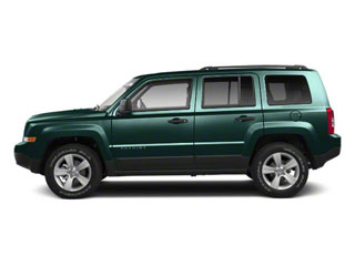 Onyx Green Pearl 2012 Jeep Patriot Pictures Patriot Utility 4D Latitude 2WD photos side view