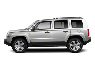 Bright Silver Metallic 2012 Jeep Patriot Pictures Patriot Utility 4D Latitude 2WD photos side view