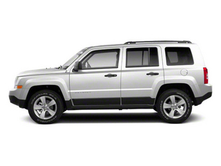Bright White 2012 Jeep Patriot Pictures Patriot Utility 4D Latitude 2WD photos side view