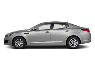 Bright Silver 2012 Kia Optima Pictures Optima Sedan 4D LX photos side view