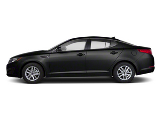 Ebony Black 2012 Kia Optima Pictures Optima Sedan 4D LX photos side view