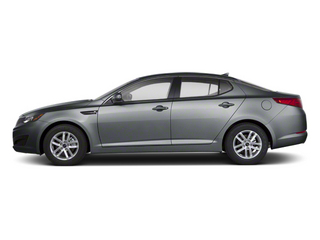 Titanium Metallic 2012 Kia Optima Pictures Optima Sedan 4D LX photos side view