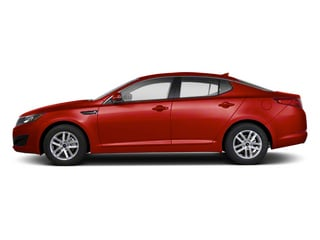 Spicy Red 2012 Kia Optima Pictures Optima Sedan 4D LX photos side view