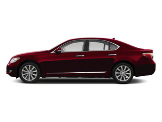 Matador Red Mica 2012 Lexus LS 460 Pictures LS 460 Sedan 4D LS460L photos side view