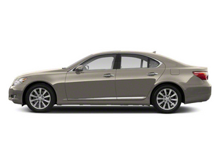 Satin Cashmere Metallic 2012 Lexus LS 460 Pictures LS 460 Sedan 4D LS460L photos side view