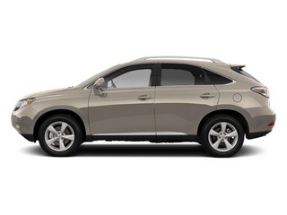 Satin Cashmere Metallic 2012 Lexus RX 350 Pictures RX 350 Utility 4D 2WD photos side view
