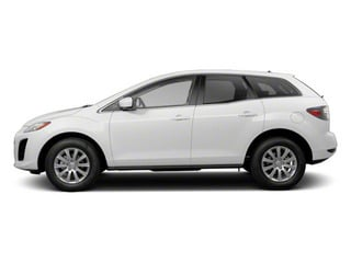 Crystal White Pearl Mica 2012 Mazda CX-7 Pictures CX-7 Wagon 4D i Touring photos side view