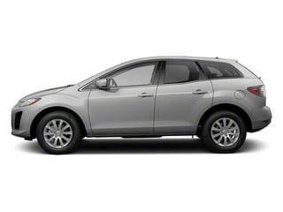 Liquid Silver Metallic 2012 Mazda CX-7 Pictures CX-7 Wagon 4D s Touring AWD photos side view