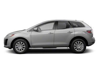 Liquid Silver Metallic 2012 Mazda CX-7 Pictures CX-7 Wagon 4D i Touring photos side view