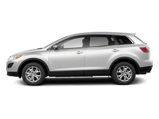 Crystal White Pearl Mica 2012 Mazda CX-9 Pictures CX-9 Utility 4D GT 2WD photos side view