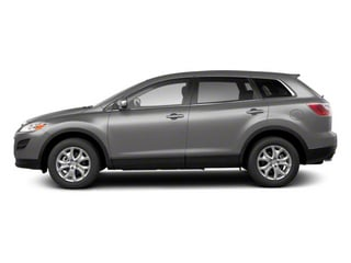 Liquid Silver Metallic 2012 Mazda CX-9 Pictures CX-9 Utility 4D GT 2WD photos side view