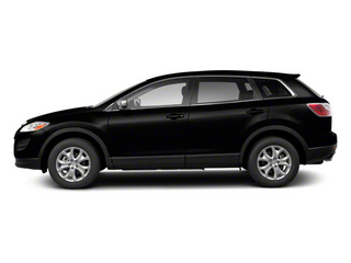 Brilliant Black 2012 Mazda CX-9 Pictures CX-9 Utility 4D GT 2WD photos side view