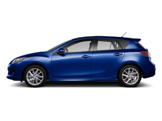 Indigo Lights Mica 2012 Mazda Mazda3 Pictures Mazda3 Wagon 5D s GT photos side view
