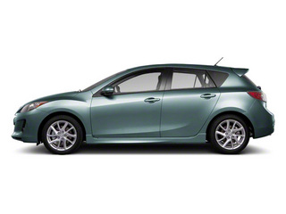 Dolphin Gray Mica 2012 Mazda Mazda3 Pictures Mazda3 Wagon 5D s GT photos side view