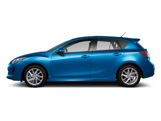 Sky Blue Mica 2012 Mazda Mazda3 Pictures Mazda3 Wagon 5D s GT photos side view