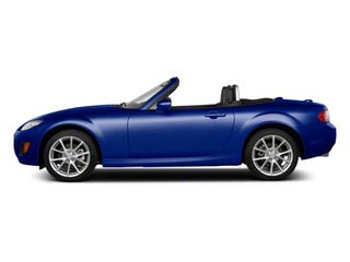Stormy Blue Mica 2012 Mazda MX-5 Miata Pictures MX-5 Miata Convertible 2D GT photos side view