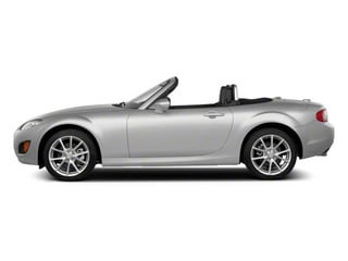 Liquid Silver Metallic 2012 Mazda MX-5 Miata Pictures MX-5 Miata Convertible 2D Sport photos side view