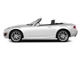 Crystal White Pearl Mica 2012 Mazda MX-5 Miata Pictures MX-5 Miata Convertible 2D GT photos side view
