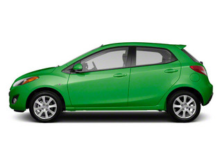 Spirited Green Metallic 2012 Mazda Mazda2 Pictures Mazda2 Hatchback 5D photos side view