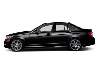 Black 2012 Mercedes-Benz C-Class Pictures C-Class Sedan 4D C63 AMG photos side view