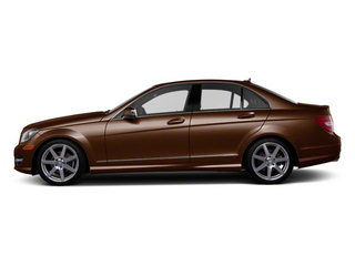 Cuprite Brown Metallic 2012 Mercedes-Benz C-Class Pictures C-Class Sedan 4D C63 AMG photos side view