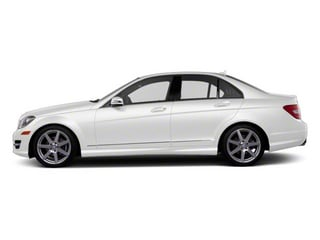 Arctic White 2012 Mercedes-Benz C-Class Pictures C-Class Sedan 4D C63 AMG photos side view