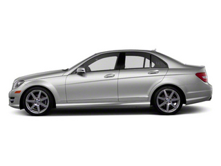 Iridium Silver Metallic 2012 Mercedes-Benz C-Class Pictures C-Class Sedan 4D C63 AMG photos side view
