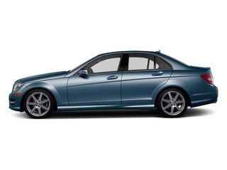 Lunar Blue Metallic 2012 Mercedes-Benz C-Class Pictures C-Class Sedan 4D C63 AMG photos side view