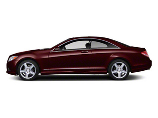 designo Mystic Red Metallic 2012 Mercedes-Benz CL-Class Pictures CL-Class Coupe 2D CL550 AWD photos side view