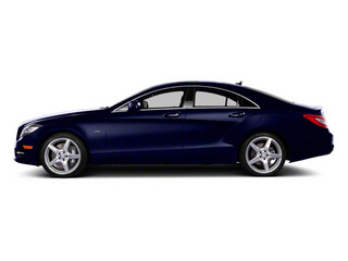designo Mystic Blue Metallic 2012 Mercedes-Benz CLS-Class Pictures CLS-Class Sedan 4D CLS63 AMG photos side view