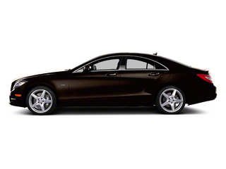 designo Mocha Black Metallic 2012 Mercedes-Benz CLS-Class Pictures CLS-Class Sedan 4D CLS63 AMG photos side view