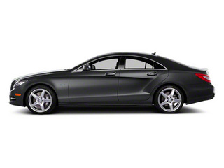Steel Grey 2012 Mercedes-Benz CLS-Class Pictures CLS-Class Sedan 4D CLS550 AWD photos side view