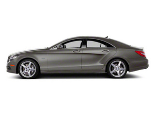 Palladium Silver Metallic 2012 Mercedes-Benz CLS-Class Pictures CLS-Class Sedan 4D CLS63 AMG photos side view
