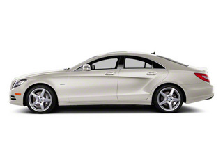 Diamond White Metallic 2012 Mercedes-Benz CLS-Class Pictures CLS-Class Sedan 4D CLS63 AMG photos side view