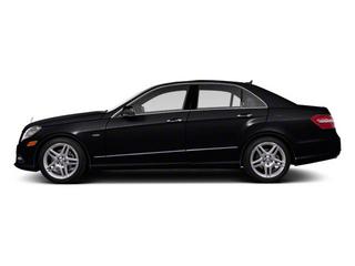 Black 2012 Mercedes-Benz E-Class Pictures E-Class Sedan 4D E550 AWD photos side view